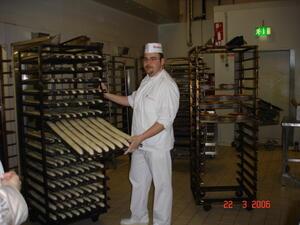 Hos bageren i Auchan
