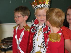 Kristian, Erik og Marcus