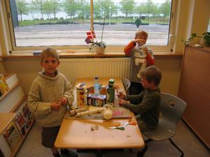 Christian, Andreas og Rasmus Br.