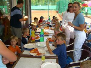 Pizzaerne var populære