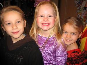 Tre smukke piger!
