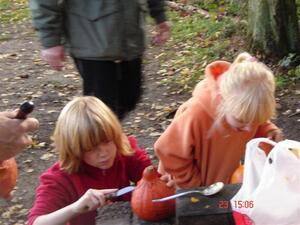 Græskarfest den 23. oktober 2005