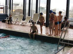 Svømning i La Coque