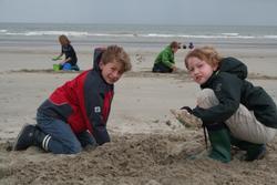 Stranden ved Blankenberge